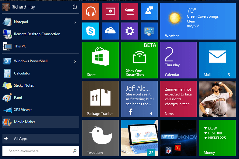 Windows 10: How to sign out using the new Start Menu