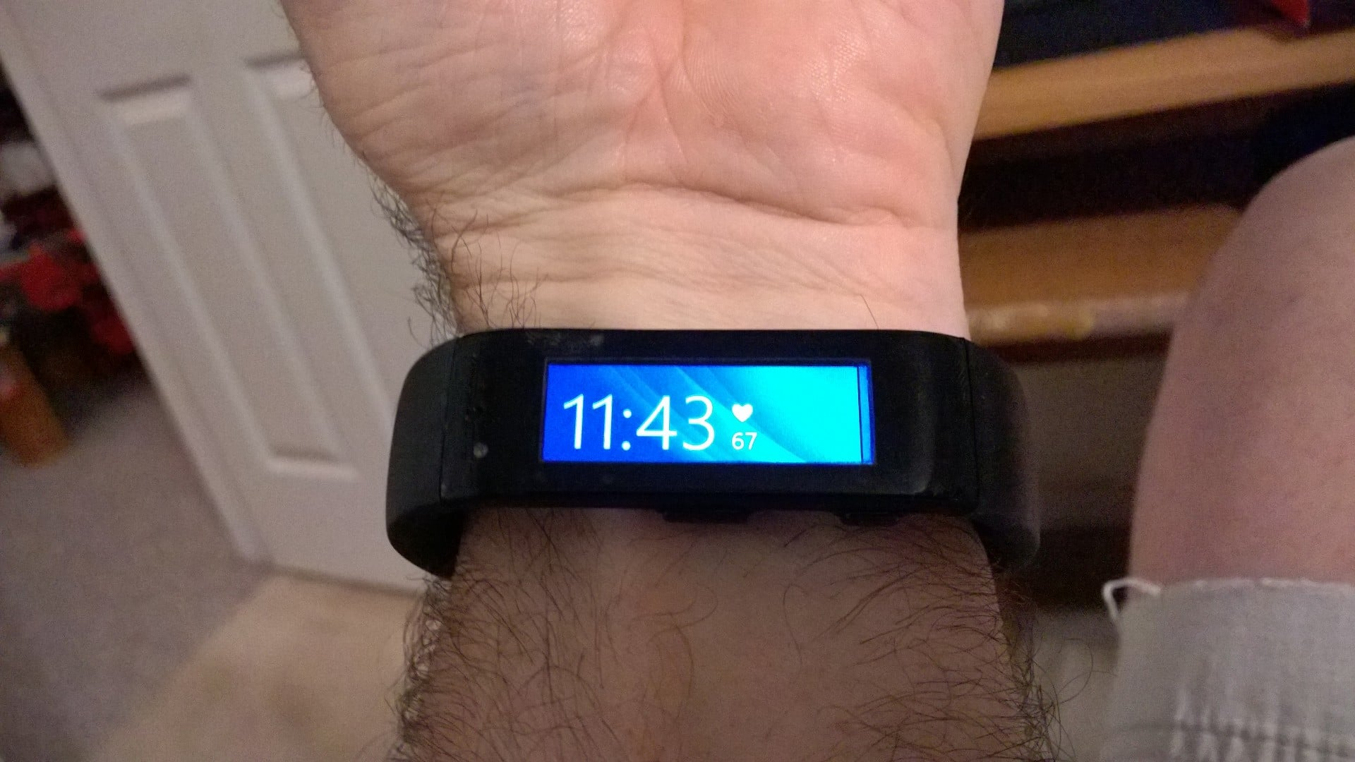 My first 24 hours with Microsoft Band