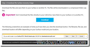 surfacerecoveryimagedownloadstep2download
