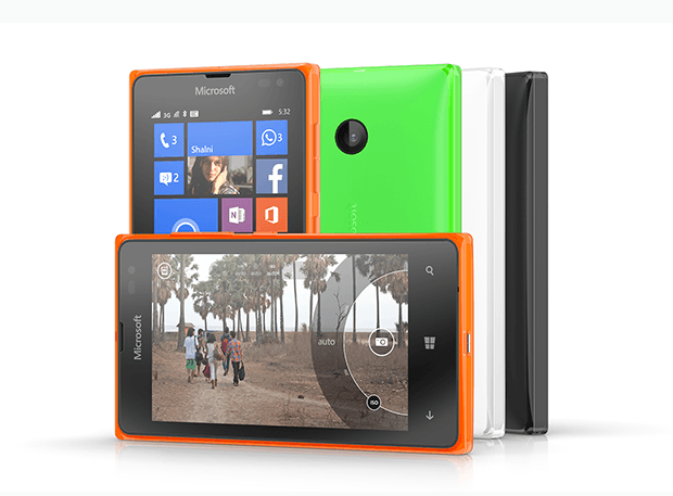 Microsoft announces two new Lumia smartphone handsets