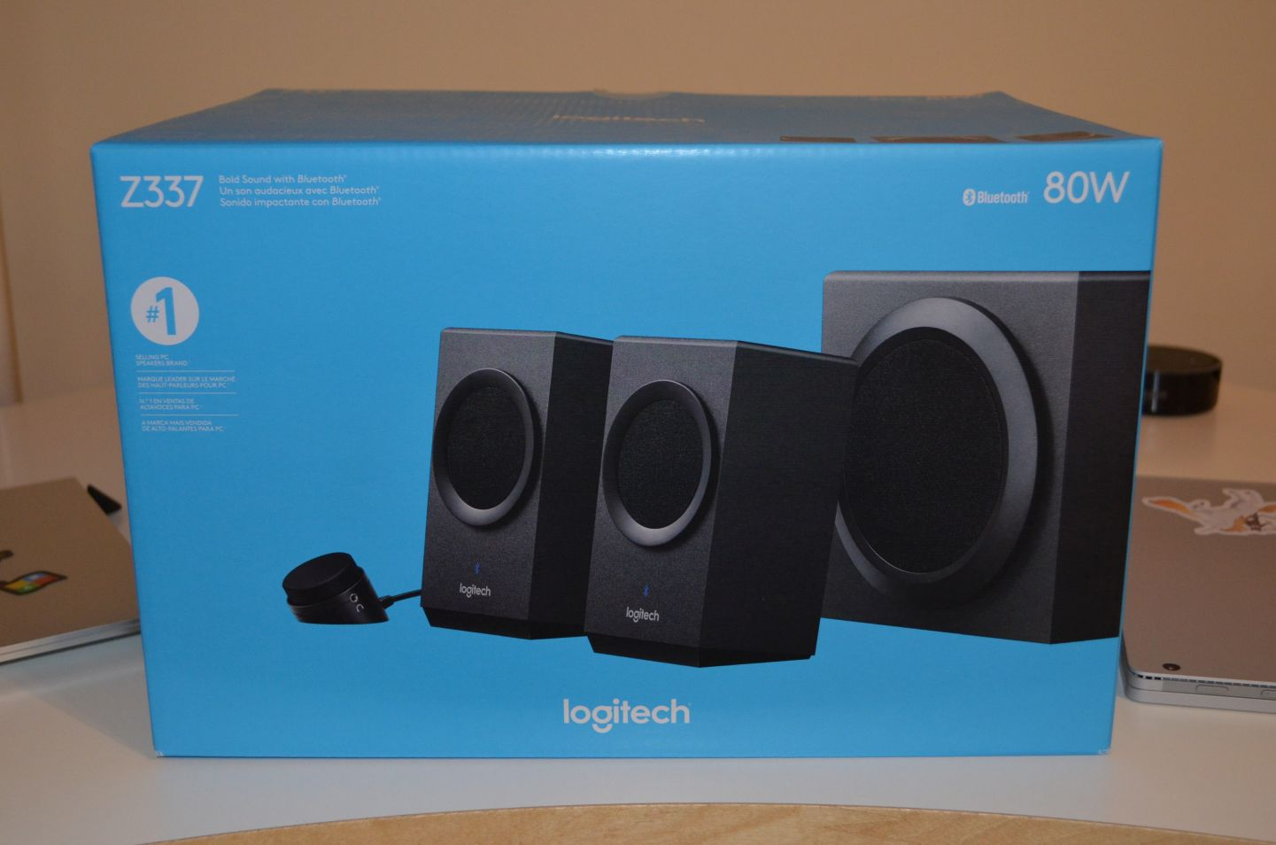 Hands on with the Logitech Z337 Desktop Speakers with Bluetooth