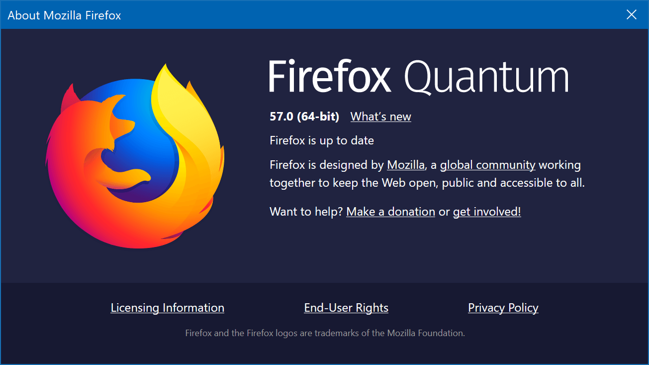 Mozilla Releases Firefox Quantum Browser