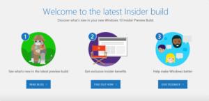 Windows 10 RS5 Build 17661 Edge Welcome Screen