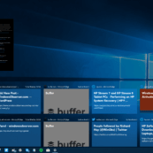 Timeline in Build 17134.1 without Acrylic Effect