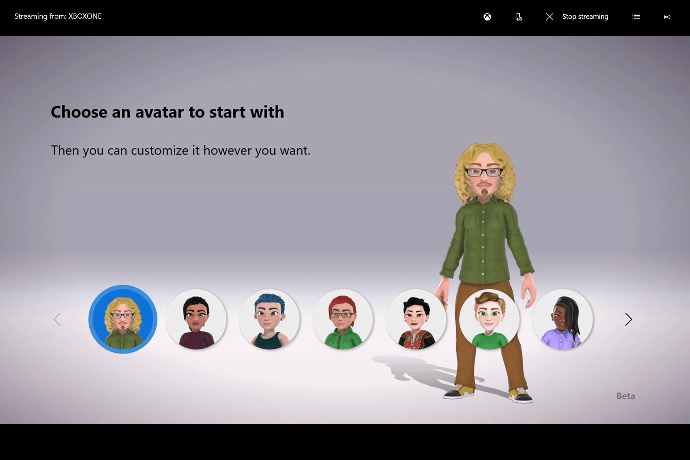 New Xbox Avatars