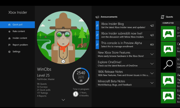 Xbox Insiders Program Adding a Skip Ahead Ring for Testers