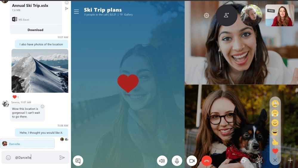 Microsoft Releases Skype Version 8 for Windows 10; Skype Classic to Retire