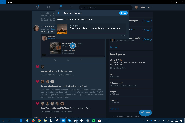 Twitter PWA App