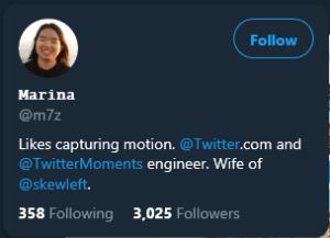Twitter User Card