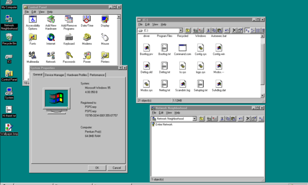 My Journey to Windows Observer Began with Windows 95