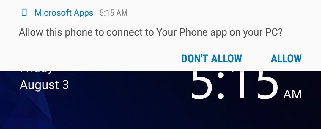 Your Phone App