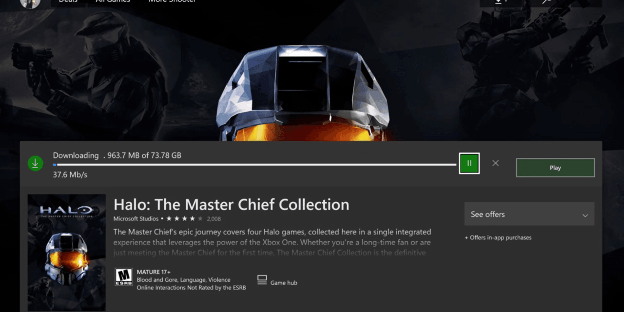 Halo: The Master Chief Collection Intelligent Delivery System