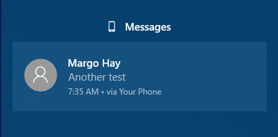 Your Phone Messaging