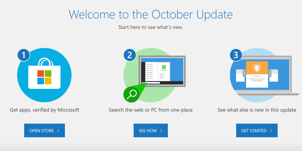 How to Download the Windows 10 October 2018 Update