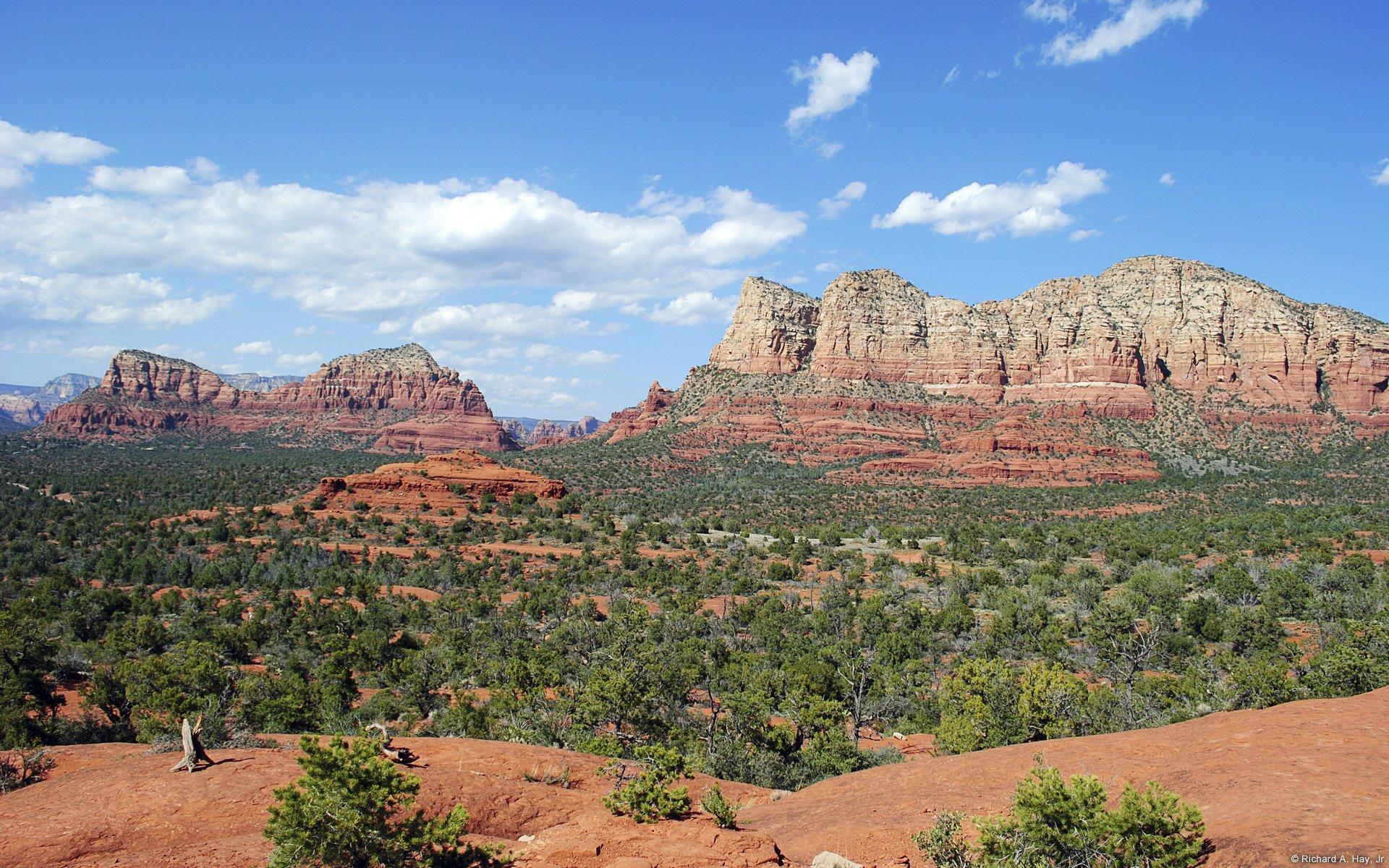Red Rocks near Sedona (Arizona, U.S.)