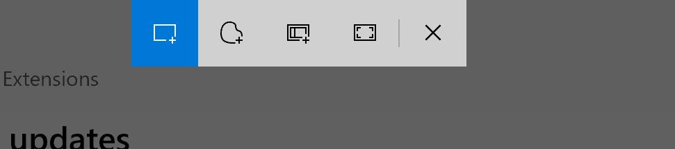 Windows 10 Snip & Sketch Tool