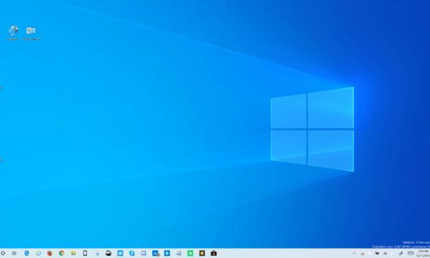 Windows 10 19H1 Build 18298 Highlights