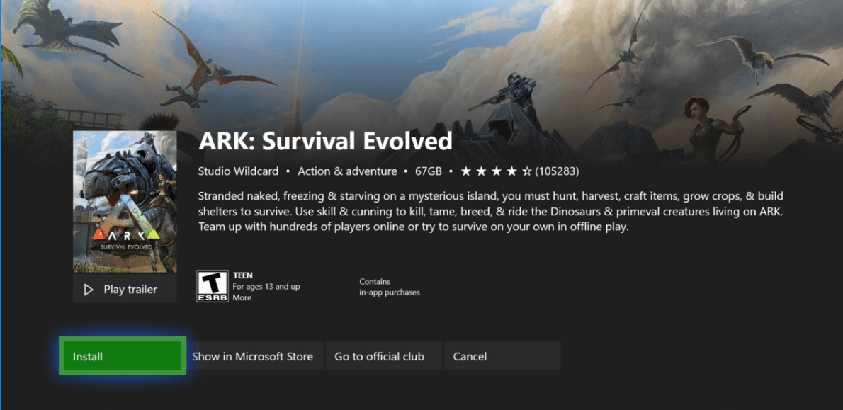 ARK: Survival Evolved - Game Pass