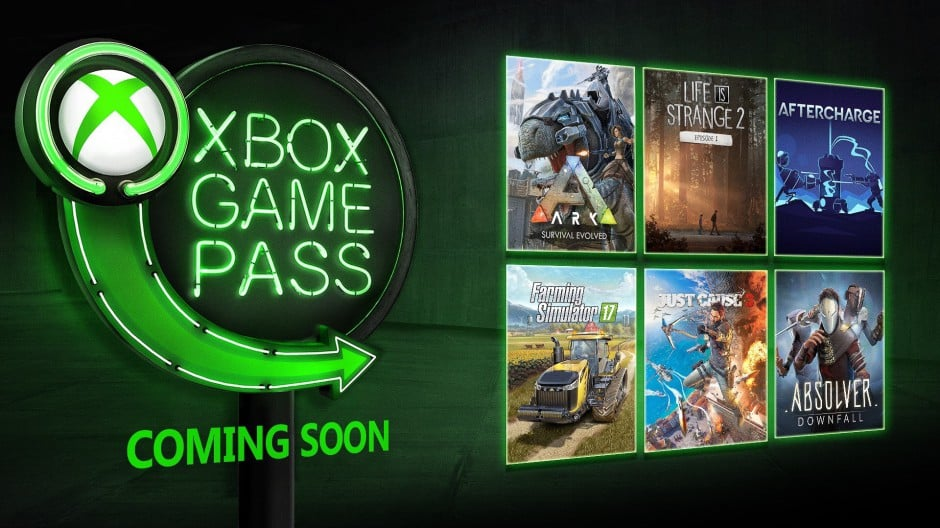 Xbox Game Pass Adds Six New Titles for January
