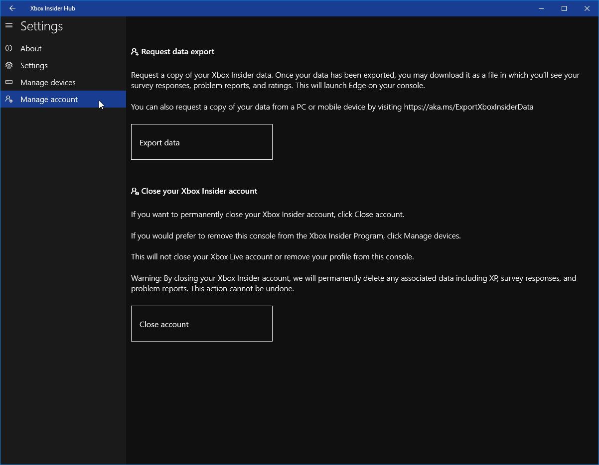 Xbox Insider App
