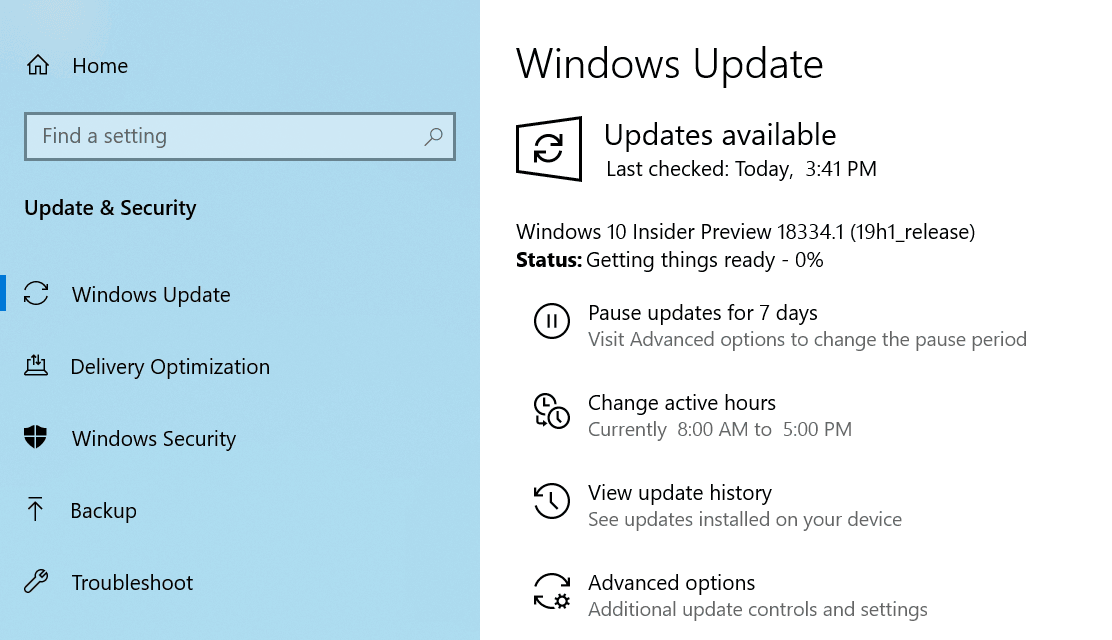 Windows 10 Build 18334 Available for Fast and Skip Ahead Rings