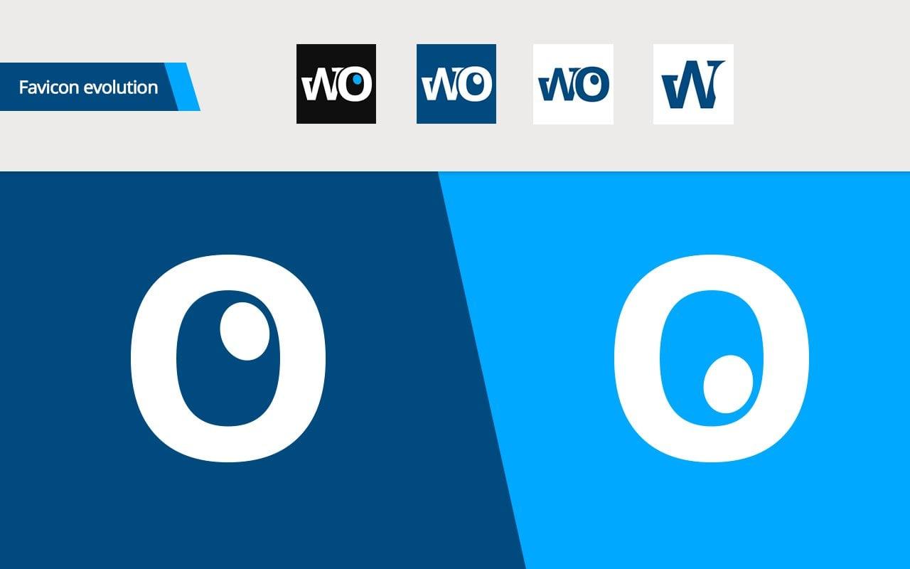 WindowsObserver Logo Design - Favicon Evolution