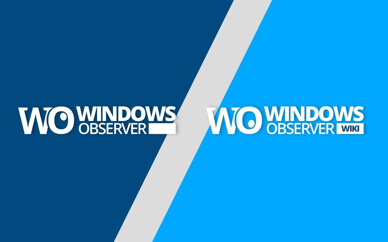 Windows Observer Logo Announcement Hero