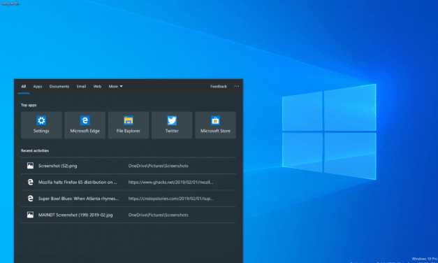 Windows 10 Build 18329.1 Available for Fast and Skip Ahead Rings