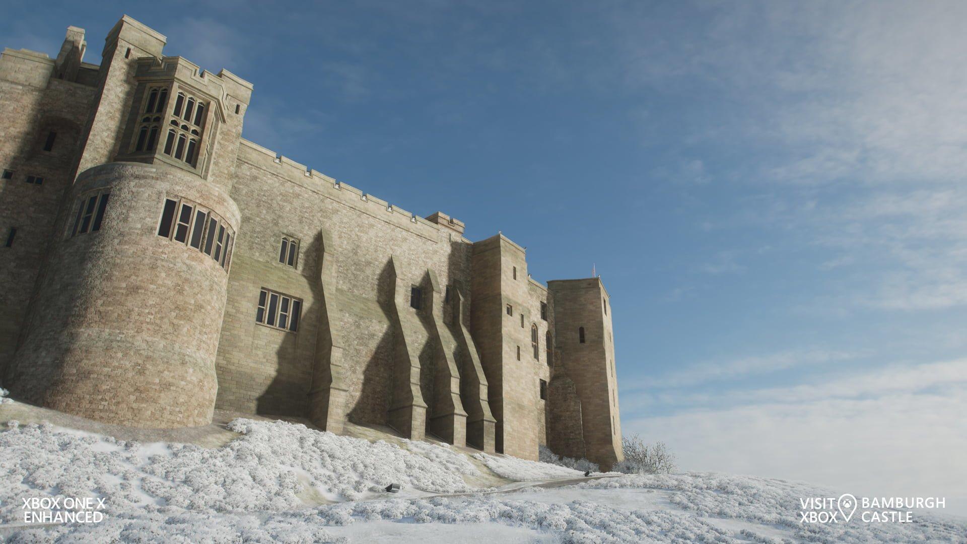 Forza Horizon 4 Bamburgh Castle