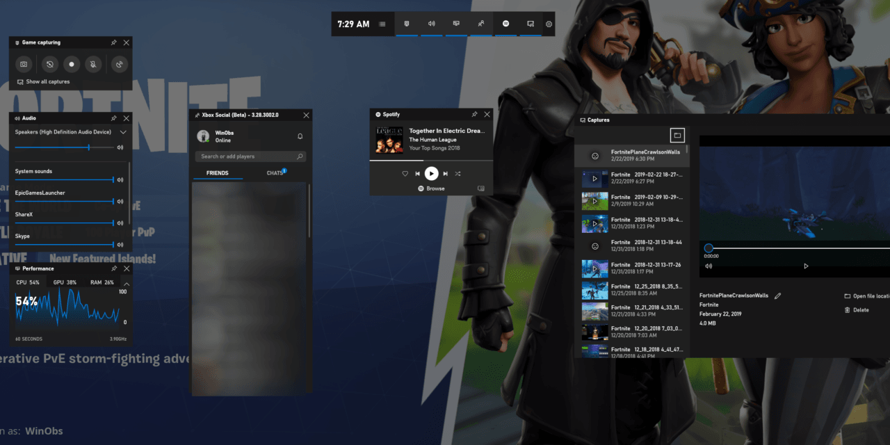 Windows Game Bar – The Makeover Edition