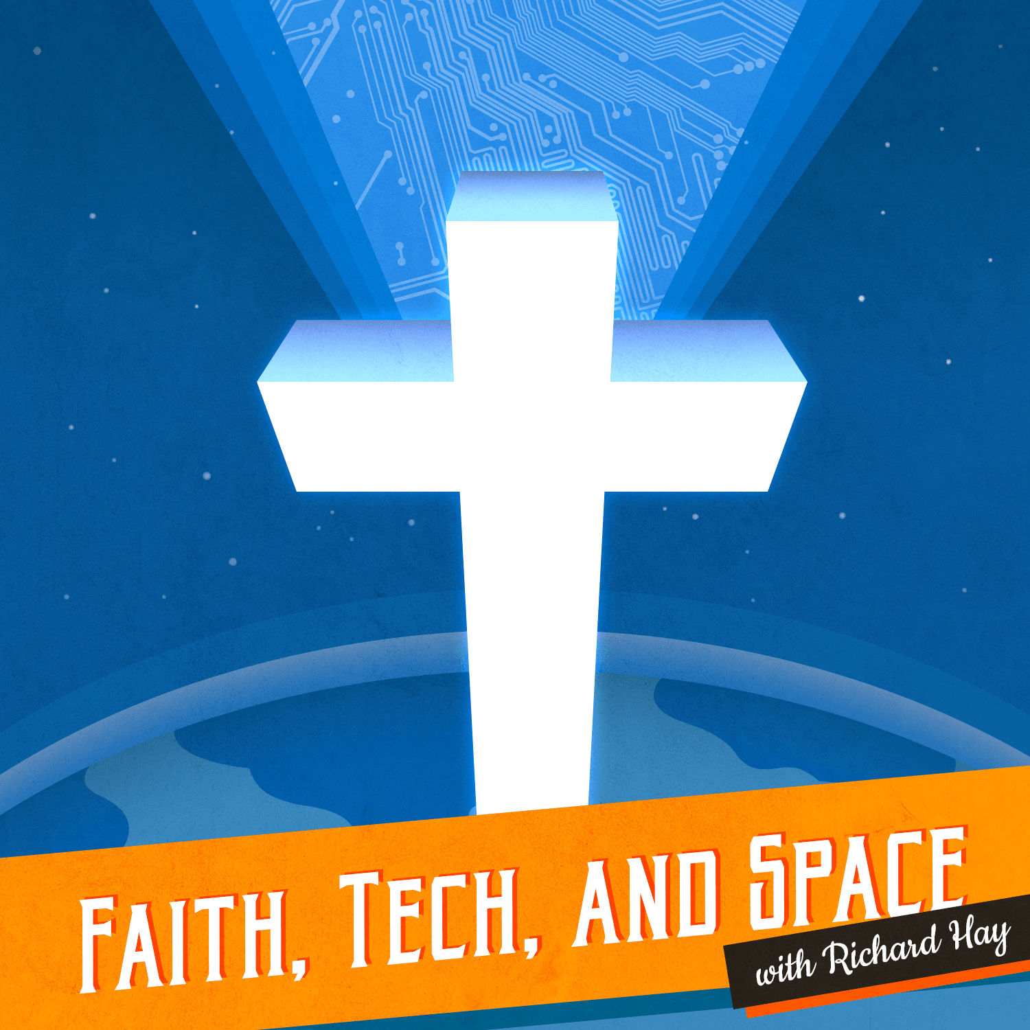 Faith, Tech, and Space PODCAST Logo