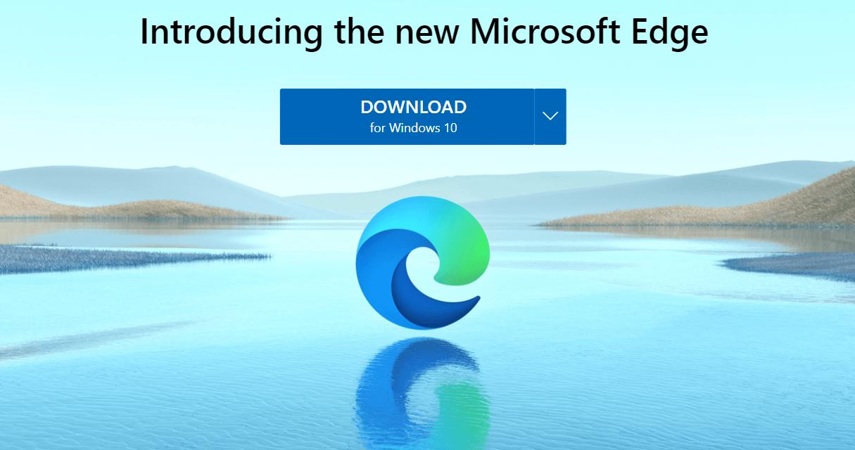 Microsoft Edge Browser Based on Chromium Leaves Beta