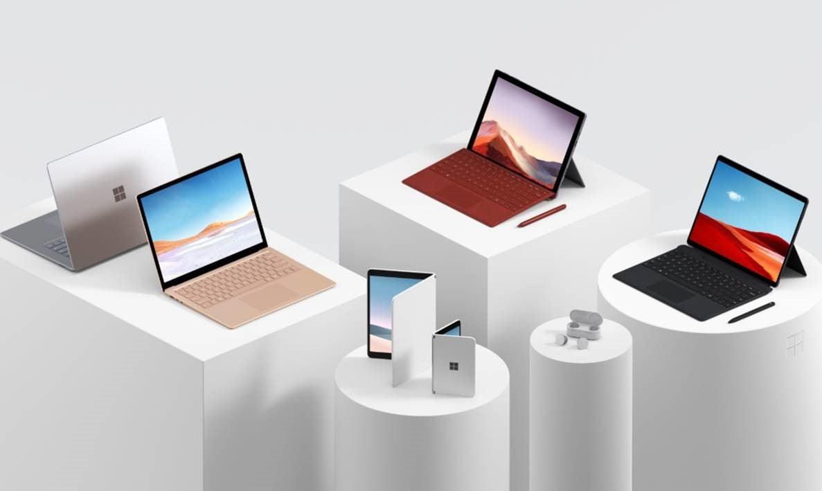 Surface Hardware Display October 2019
