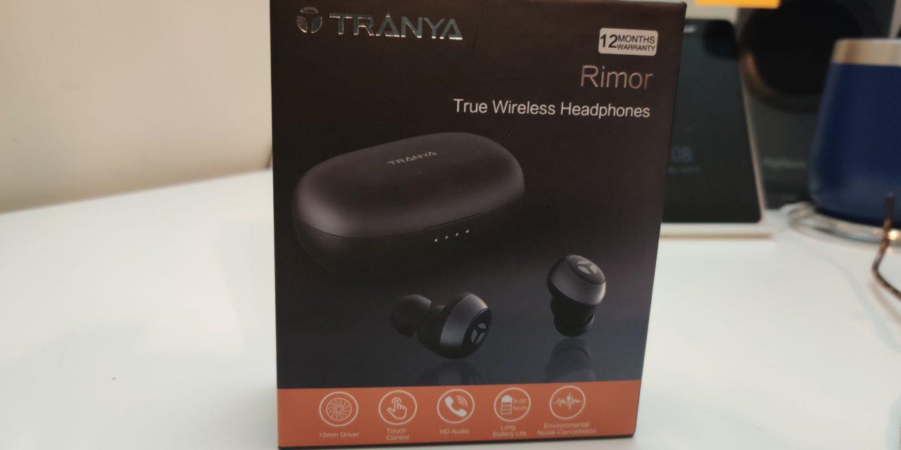 Hands On: Tranya Rimor Wireless Earbuds