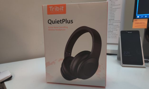 Hands On: Tribit QuietPlus Noise Cancelling Headphones