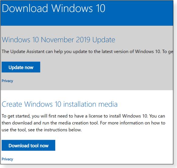 Get Windows 10 Download