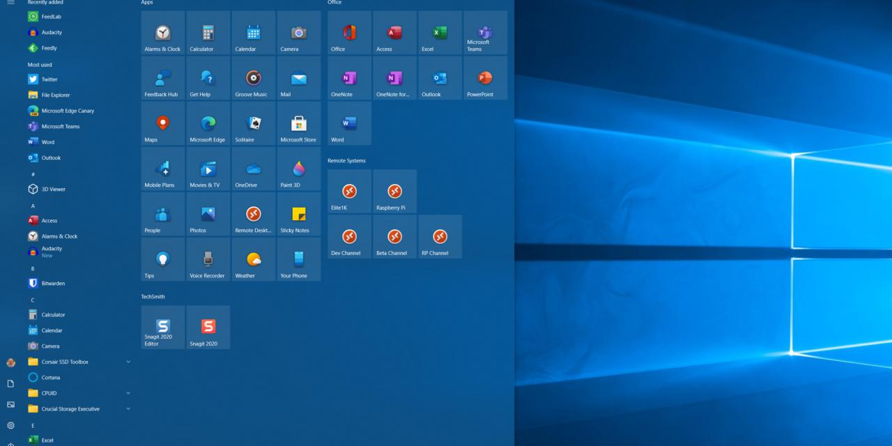 #WindowsInsiders Channel Updates – September 2020