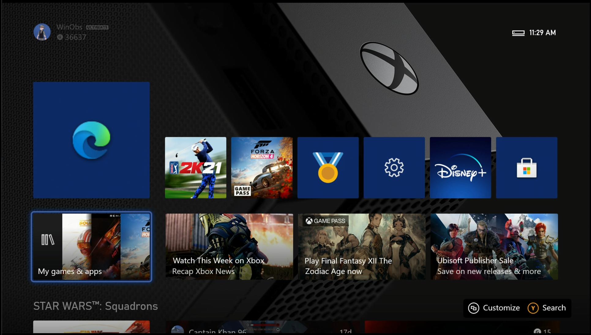 New Microsoft Edge on Xbox One