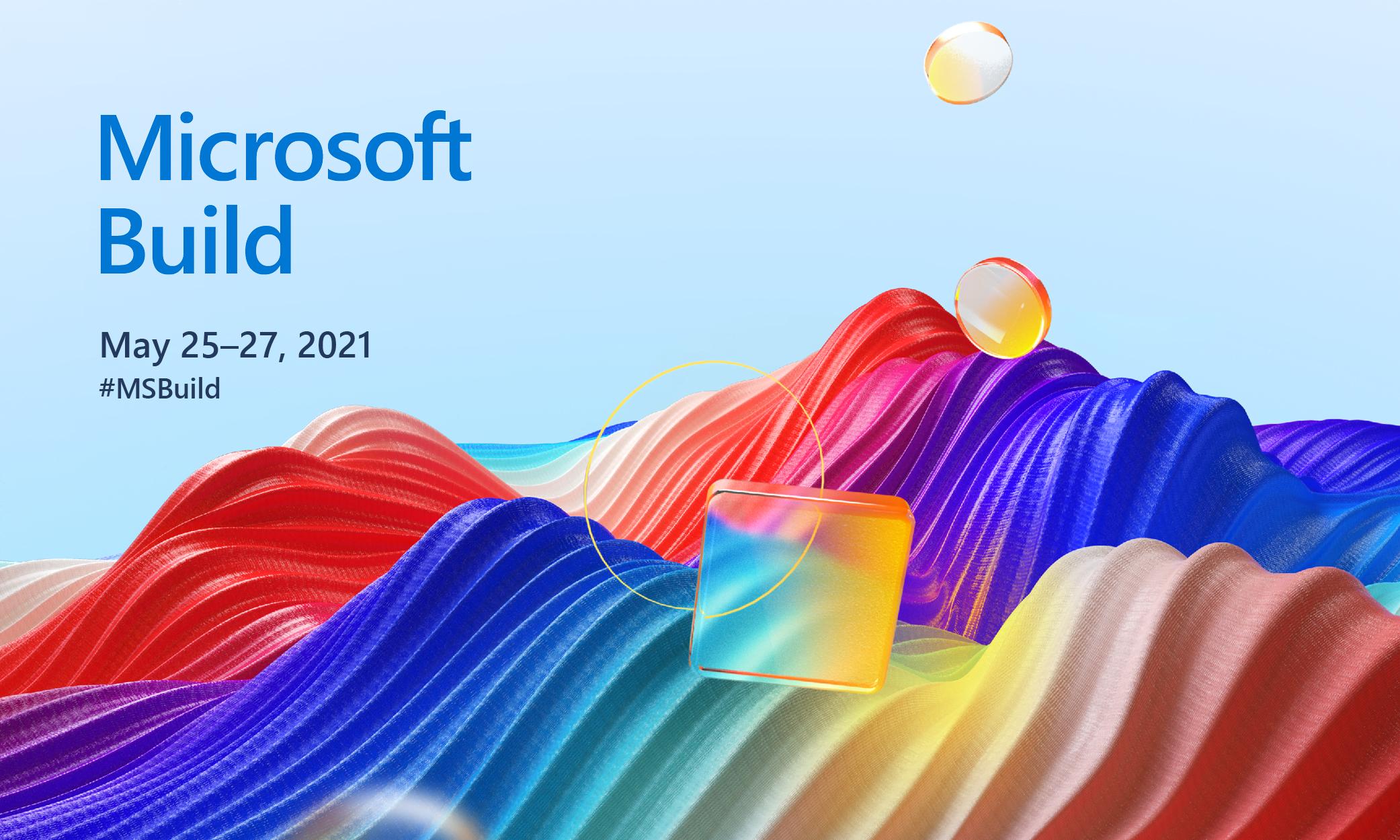 Microsoft BUILD 2021 Digital Swag