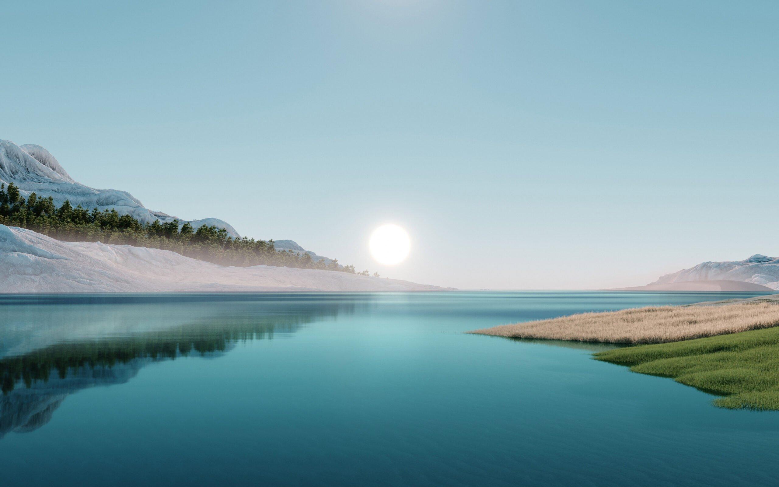 Windows 11 - Sunrise Theme Image - Microsoft